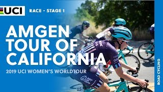2019 UCI Women's WorldTour – AMGEN Tour of California  – Highlights stage 1