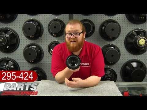 """Dayton Audio DS115-8 4"""" Designer Series Woofer Speaker"""