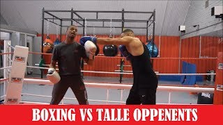 How to Fight a Taller Opponent