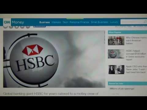 HSBC Swiss Leaks ICIJ, Hervé Falciani, Swiss Crime Syndicate Bank Dictatorship & 100 Billion $