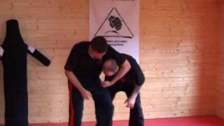 Pressure Point Defence from Headlock