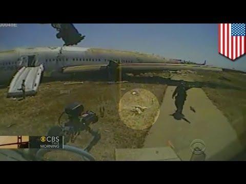 VIDEO: Asiana Flight 214 crash, naiwasan sana ang pagkamatay ng isang teenager