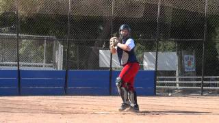 Jenae Coleman Softball Skills Video