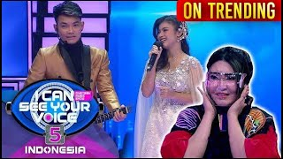 Superstar Diajak Duet Tri Suaka!! Via Vallen Nyesel Abis! - I Can See Your Voice Indonesia 5