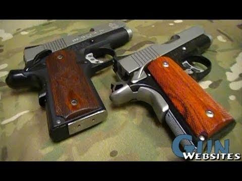 Kimber vs Springfield 1911 Compact .45acp Pistols
