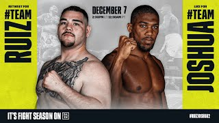 Andy Ruiz vs. Anthony Joshua 2: 𝐕𝐚𝐥𝐢𝐝𝐚𝐭𝐢𝐨𝐧 or 𝙍𝙚𝙙𝙚𝙢𝙥𝙩𝙞𝙤𝙣