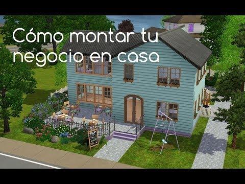 Tutorial: cómo montar tu negocio en casa en Los Sims 3 (nivel intermedio)