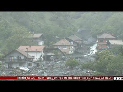Balkans Battling Worst Flooding In Almost 120 Years
