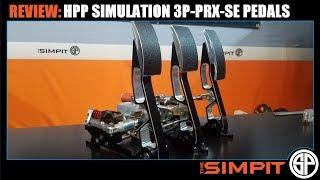 HPP Simulation 3P-PRX-SE Pedal Set Review - Sim Racing Art
