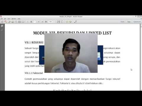 Rekursi dan Linked List Pada C. Modul VII