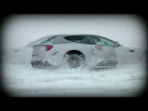 Что будет если ездить на Ferrari по сугробам