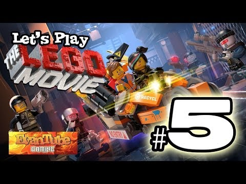 Let's Play The LEGO MOVIE VIDEO GAME! (Level 5) Gameplay with EvanTubeHD