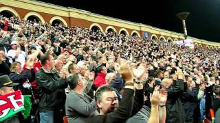 фанаты_гимн Англии / fans_the anthem of England: Belarus vs England 1-3 (15.10.2008)