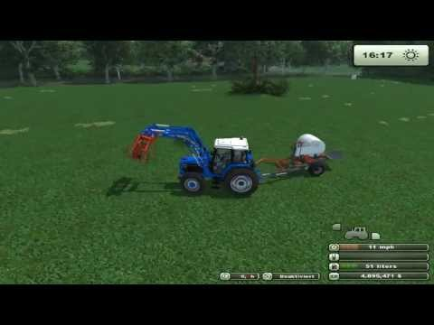 farming simulator 2013 wrapping bales