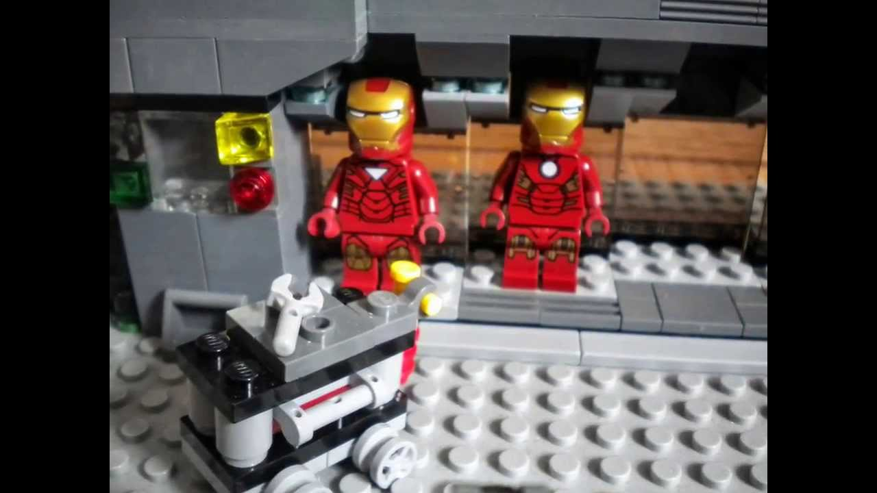 Lego Tony Stark S Laboratory 1080p Hd Youtube