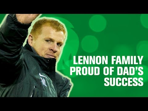 Lennon family proud of Dad's success!