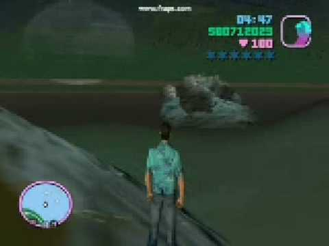 Gta Vice City -Pc- de baixo d'agua!