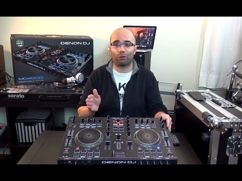 Denon DJ MC4000 Serato DJ Controller Video Review