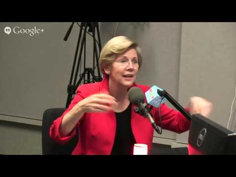 U.S. Sen. Elizabeth Warren- May 7, 2014