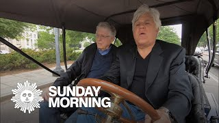Jay Leno in the driver's seat