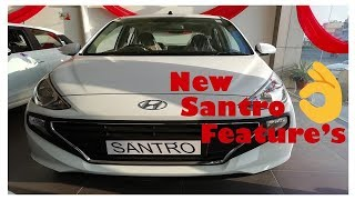 New hyundai santro 2018 features