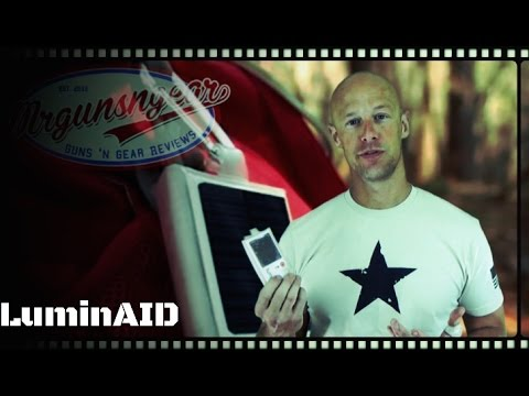 LuminAID Solar Powered Survival & Outdoors Lantern Review (HD)