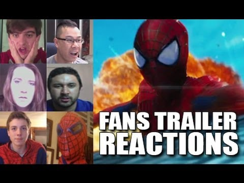 The Amazing Spider-Man 2 Trailer: Fans Reactions Compilation