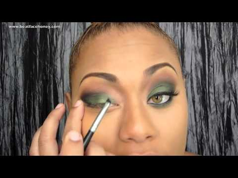 Forrest Green Fall Eyeshadow