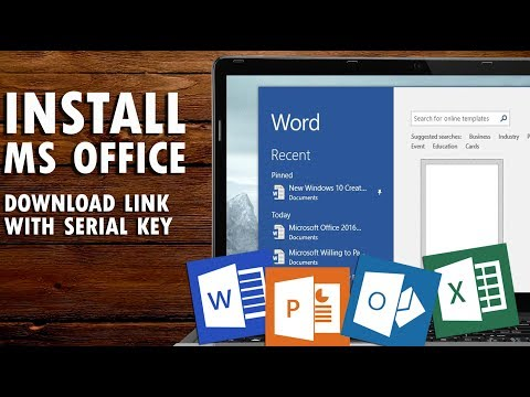 how to download & install MS OFFICE 2007