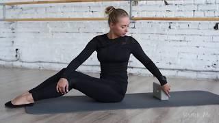 Фитнес упражнения развивают гибкость спины и рук! Для начинающих