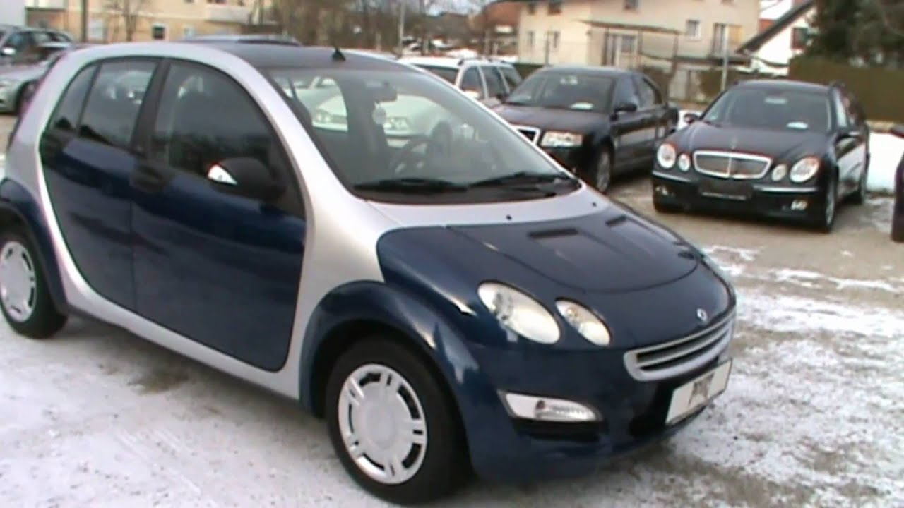 2005 Smart Forfour Pulse 1 1i Full Review Start Up Engine
