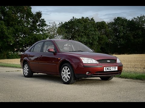 2002 FORD MONDEO 2.0 ZETEC VIDEO REVIEW