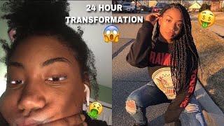 HUGE 24 HOUR 9TH GRADE TRANSFORMATION!! 😱