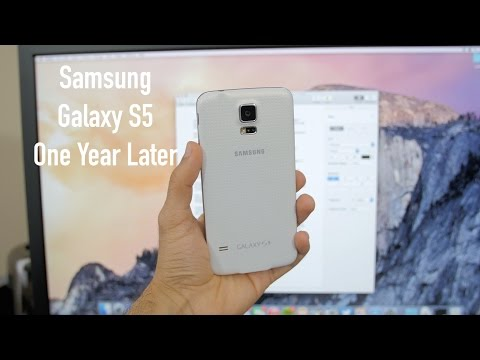 Samsung Galaxy S5: One Year Later