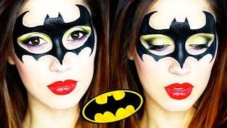 Batgirl Halloween Makeup Tutorial 2015