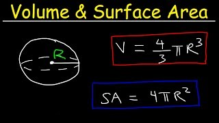 Volume and Surface Area of a Sphere Formula, Examples, Word Problems, Geometry