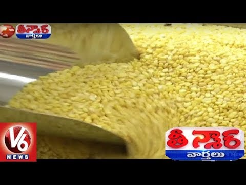 NDA Govt Plans Mega Sale of Pulses at Rates Rs.15 Cheaper Than Market Price | Teenmaar News