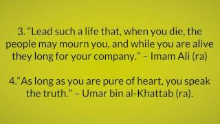 Top 5 Islamic Quotes about Greatness