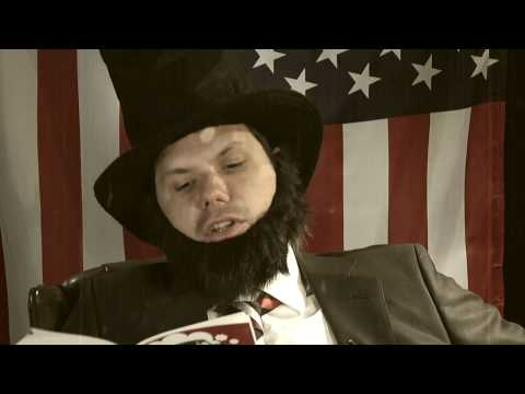 Abe Lincoln on Michael Ian Black's My Custom Van