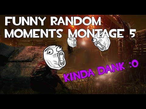 Dead by Daylight funny random moments montage 5