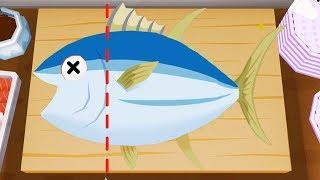 Game Vui Cho Bé – Bắt Cá Làm SuShi Nhật Bản