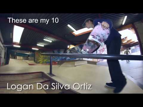 Logan Da Silva Ortiz - These Are My 10 - Belgium Skate Media
