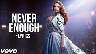 Download Lagu The Greatest Showman - Never Enough (Lyric Video) HD Gratis STAFABAND