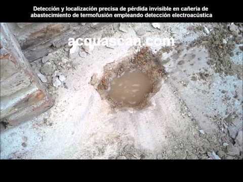 Acquascan Uruguay / Detección y Localización de Pérdida de Agua Invisible en Cañería de Termofusión