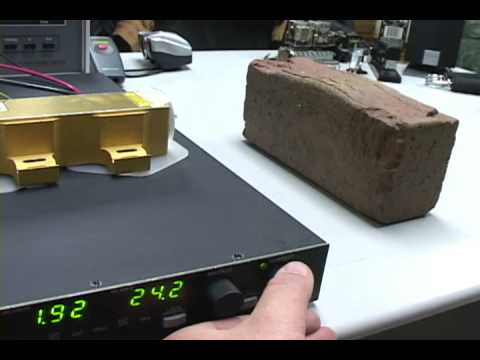 60 Watt Coherent Laser Diode Test