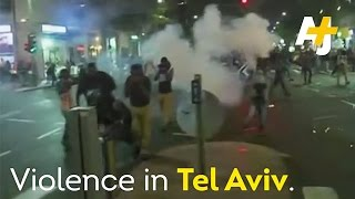 Video Shows Ethiopian-Israeli Soldier Beaten By Police – Clashes In Tel Aviv