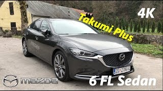 NEW Mazda 6 sedan FL 2019 FIRST quick look in 4K - Challenge vs Takumi Plus