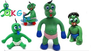 Cute Baby Videos - Green Babies Compilation - Baby Stop Motion Animations