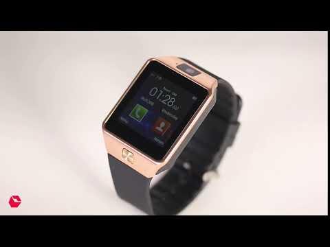 ROOQ DZ09 Smart Watch - Bluetooth with SIM & TF Card Slot