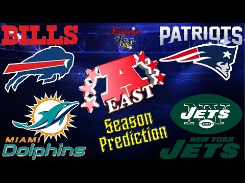 2017 NFL Season: AFC East Season Preview & Predictions #LouieTeeLive